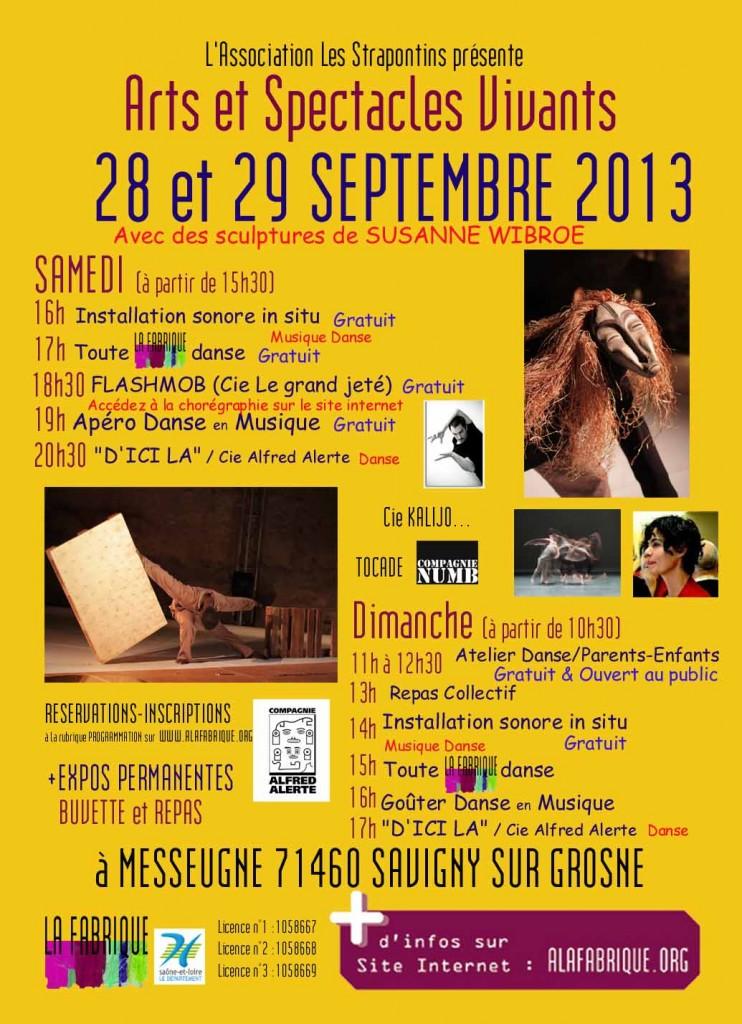 AFFICHES de la Septième Fabri-K-tion 2013
