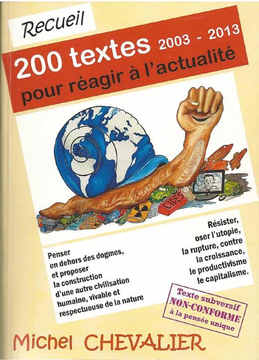 Recueil 200 TEXTES par Michel CHEVALIER
